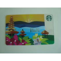 Tarjeta Starbucks De Bali Indonesia Para Colección - Rara
