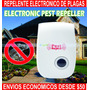 Repelente Electrónico Ultrasonico De Plagas