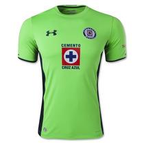 Jersey Cruz Azul 14-15 Tercera Verde Original