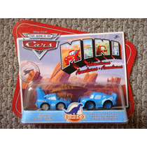 Cars Disney The King / Dinoco Mcqueen. Mini Adventures.