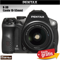 Ituxs | Camara Pentax K-30 + Lente 18-55mm | Envio Gratis