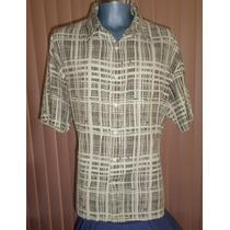 Geoffrey Beene Camisa Talla Extra Grande Seda / Rayon