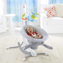 Cuna Mecedora Fisher Price 4 En 1 Baby Gear Smart Connect