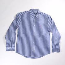 La Martina Camisa Azul Mediana Original