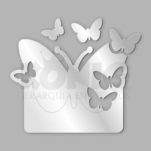 espejos diseo decorativo juvenil original unico mariposas