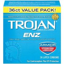 Enz Troyano Condón Enz Spermicidal 36 Conde