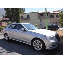Mercedes Benz Blindado Nivel 4 E500 2011 Avangarde