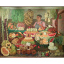 Vendedora De Frutas Olga Costa Rompecabezas 1000 Pzs Rommex