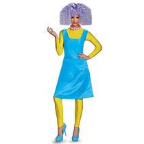 El Selma Deluxe Traje De Halloween De Los Simpson Niñas - Ta