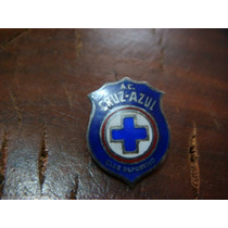 Pin Antiguo Del Cruz Azul De Los 60