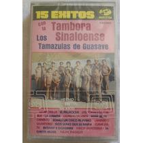 Los Tamazulas De Guasave. 15 Exitos. Cassette Sellado