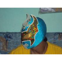 Mascara De Luchador Mizteziz De La Aaa Sin Cara Wwe Semiprof