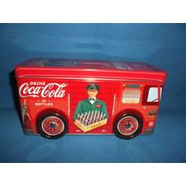 Alcancia Coca Cola De Lamina Tipo Vintage Producto Oficial