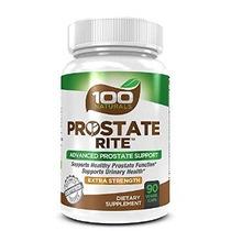 100 Naturals Próstata Rito: Próstata Avanzado Suplemento Uri