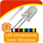 Led Ultrabrillante 100 Piezas , Arduino
