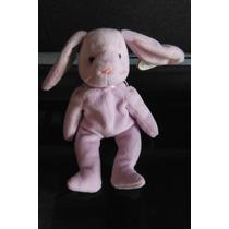 Peluche Ty Beanie Babies Rabbit Floppity Conejo Morado