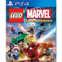 Lego Marvel Super Heroes - Ps4 [físico] Fgk