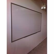 Pintarron-pizarrones Blancos Escolares 1.20 X 2.40