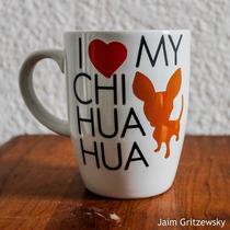 Taza Personalizada I Love Chihuahua