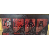 Star Wars The Black Series Set 4 Figuras Crimson Oxixo R2q5