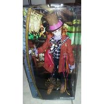 Muñeco Sombrero Loco Disney Store Alicia A Traves Del Espejo