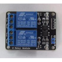 Modulo 2 Relevadores 5v Arduino Pic Master Atmel Avr