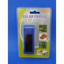 Lampara Solar 3led Color Azul