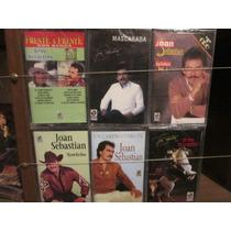 Joan Sebastian. Lote De 6. Cassettes Nuevos