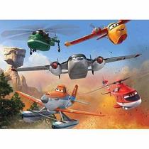 Rompecabezas Infantil De Disney: Aviones De 100 Pzas Xxl