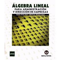 Algebra Lineal Para Administración Pdf