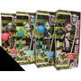 Monster High Roller Maze Serie De 4 Muñecas Diferentes