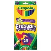Lápices De Colores Crayola Borrable 24-color Set