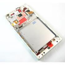 Lcd Display & Touch Digitizer+frame Nokia Lumia 830~white