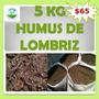 Lombricomposta 5 Kg Humuz De Lombriz Abono Orgánico Sustrato