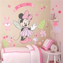 Vinil Decorativo - Minnie Mouse Hada - Entrega Inmediata