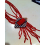 Precioso Collar De Coral Rojo Comprado En Sudafrica Nuevo!