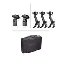Juego 6 Microfonos Audio-technica Mb-dk6 Bateria Estuche