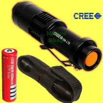 Lampara Led Cree Xm-l T6 2500lm Sumergible 5mts Funda Y Base