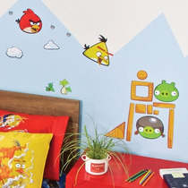 Vinil Decorativo Angry Birds