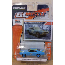 Oldsmobile Cutlass 1970 Custom Blue Greenlight