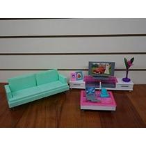 Barbie Tamaño Dollhouse Muebles- Habitación Familiar