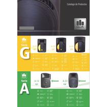 Bafle Bocina G&a Amplificado 12 G-22 Mp3 Usb/sd 300w