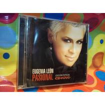 Eugenia Leon Cd Pasional Cd + Dvd ,