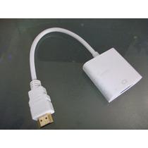 Cable Adaptador Convertidor Hdmi - Vga