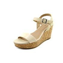 Alfani Pyper Faux Sandalias De Cuña Zapatos De Cuero