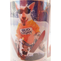 Tarro Cervecero Bud Light Beer Bull Terry Edicion 1987 Bar