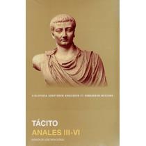 Tácito. Anales. Libros 3-6. Unam. Edición Bilingüe. Pasta Du