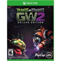 Plantas Vs Zombies 2 Deluxe + The Witcher 3 Xbox One