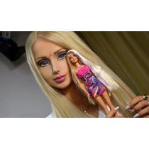 Peluca Completa De La Barbie - Plancha Ondula Lava