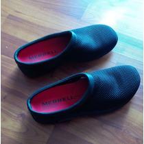 Zapato Tenis Sueco Negro Malla Mesh Merrell